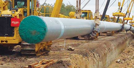API 5L X46 Natural Gas Pipeline